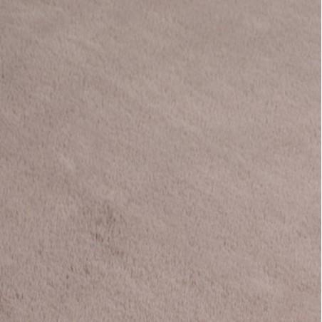 Comfy Plain Rug - Mink Pattern Detail