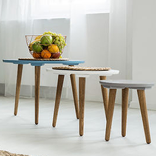 Nest of Tables | Oak, White, Glass Nest of Tables & More