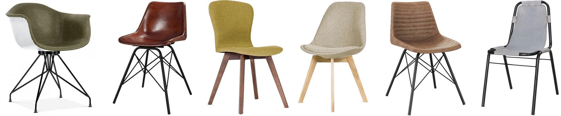 Upholstered Dining Chairs | Leather, Fabric & Faux Leather Chairs