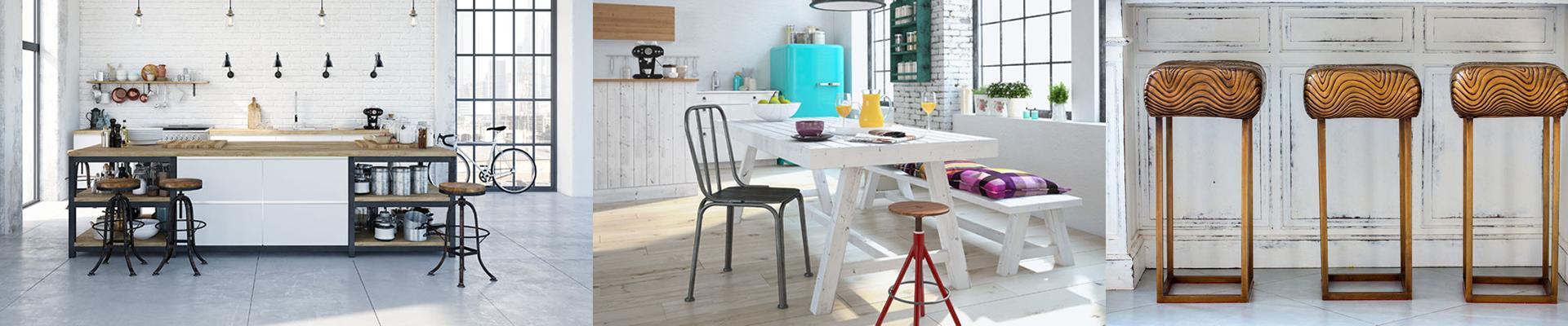 Breakfast Bar Stools, Kitchen Stools & Bar Chairs