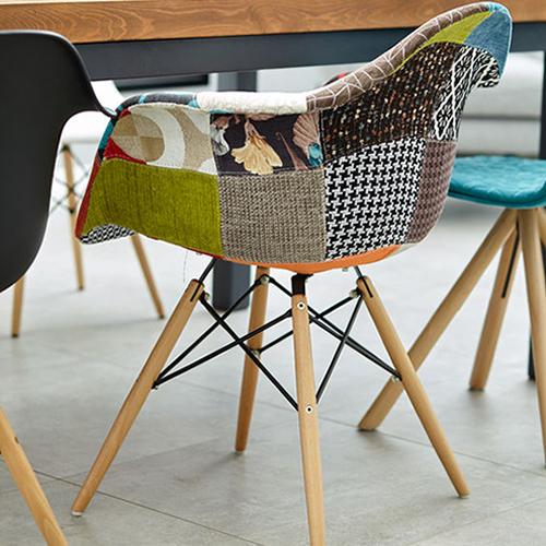 Coloured Chairs | Wood & Metal Coloured Dining Chairs